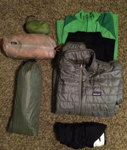 I would have to think it was going to be really cold before I carried the rain pants which are not pictured here.
